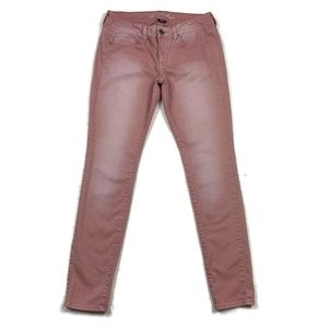 American Eagle Outfitters Jeans Skinny Pink